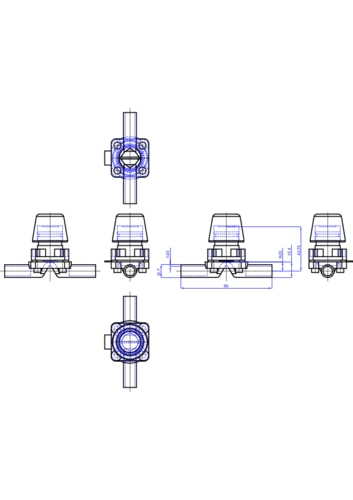 275865 stainless steel diaphragm valve manual diaphragm valves the depiction of the products may differ from the actual specific design ccuart Image collections